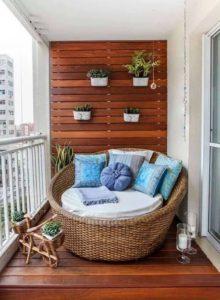 Muebles a medida en los balcones